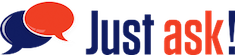 Just ask! Logo
